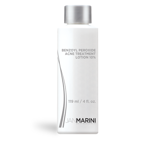 Jan Marini Benzoyl Peroxide Acne Treatment Lotion 10% (4.0 fl oz/ 119 ml) - Test