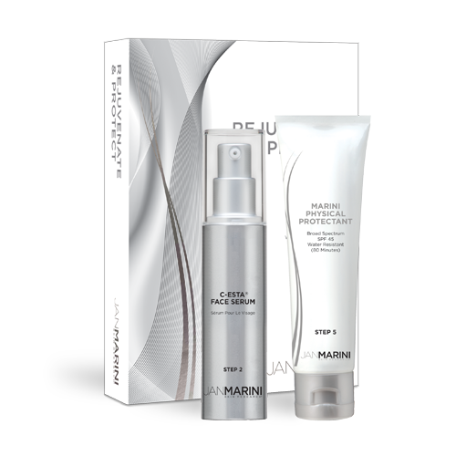 Jan Marini Rejuvenate and Protect Duo Set (Includes Marini Physical Protectant)