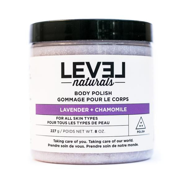 Level Naturals Lavender + Chamomile Body Polish