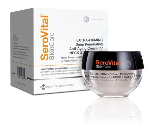SeroVital Extra-Firming Deep Penetrating Anti-Aging Cream for Neck & Décolleté (1.7 fl oz/ 50 ml)