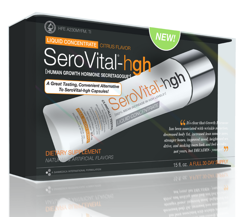 SeroVital-hgh Dietary Supplement Liquid Concentrate (30 Days) - Discontinued