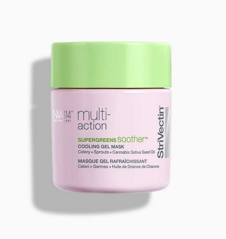 StriVectin Multi-Action Supergreens Soother Cooling Gel Mask (2.4 oz)