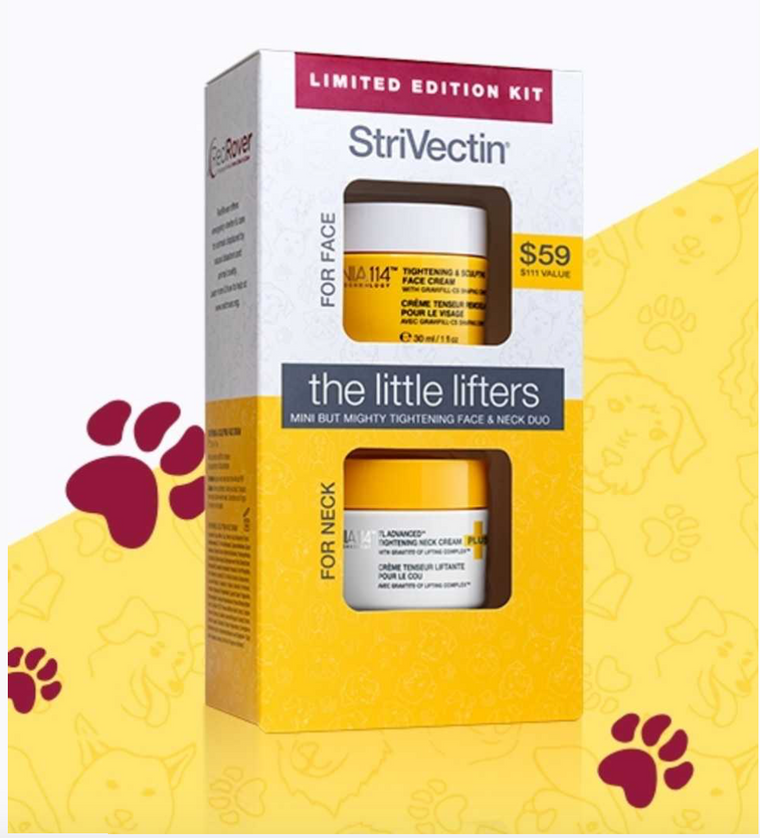Strivectin Little Lifters Kit - face & neck duo ($111 value) LIMITED EDITION