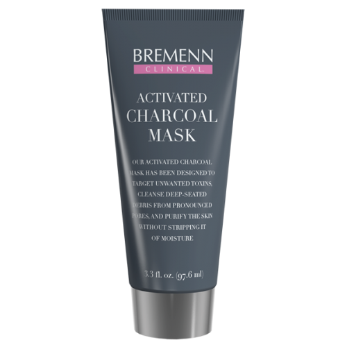 Bremenn Clinical Activated Charcoal Mask (3.3 fl oz / 97.6 ml) - LIMITED SUPPLY