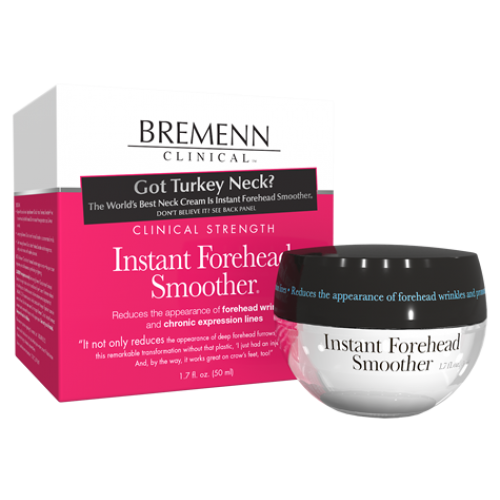 Bremenn Clinical Strength Instant Forehead Smoother (1.7 fl oz/ 50 ml) - Test