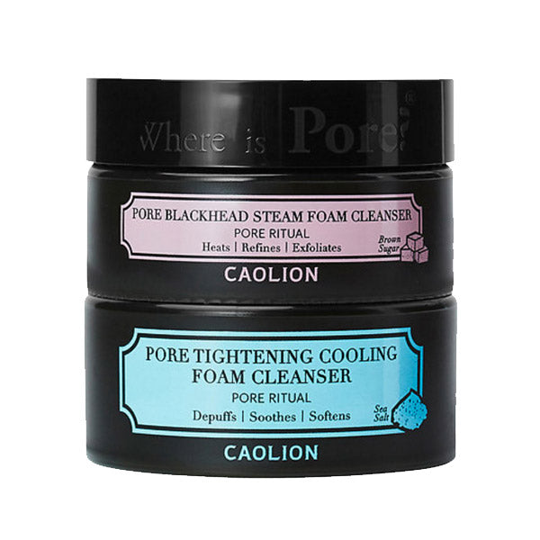 Caolion Hot & Cool Pore Foam Cleansing Duo