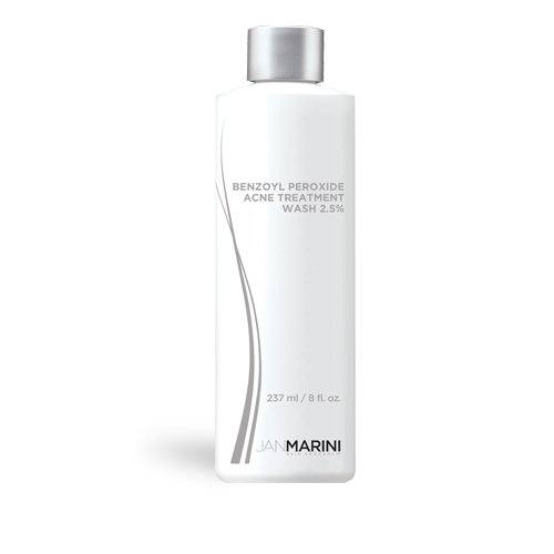 Jan Marini Benzoyl Peroxide Acne Treatment Wash 2.5% (8.0 fl oz/ 237 ml) - Test