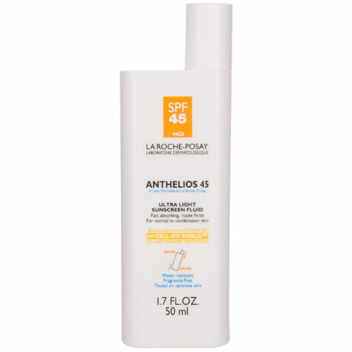 La Roche-Posay Anthelios 45 Ultra Light Sunscreen Fluid for FACE (1.7 fl oz/ 50 ml) - LIMITED SUPPLY - Test