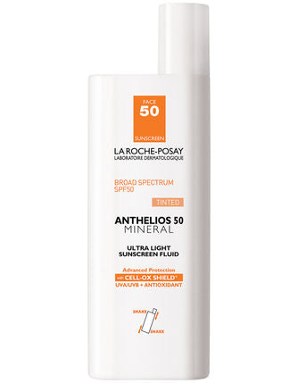 La Roche-Posay Anthelios 50 Mineral TINTED Ultra-Light Sunscreen Fluid (1.7 fl oz/ 50 ml)