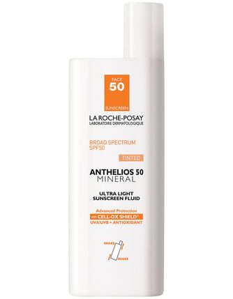 La Roche-Posay Anthelios 50 Mineral TINTED Ultra-Light Sunscreen Fluid (1.7 fl oz/ 50 ml) - Test