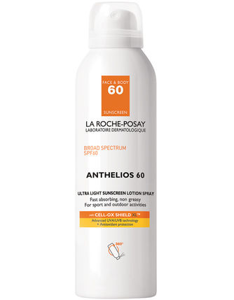 La Roche-Posay Anthelios 60 Ultra Light Sunscreen Lotion Spray (5.0 fl oz/ 150 ml) - Test