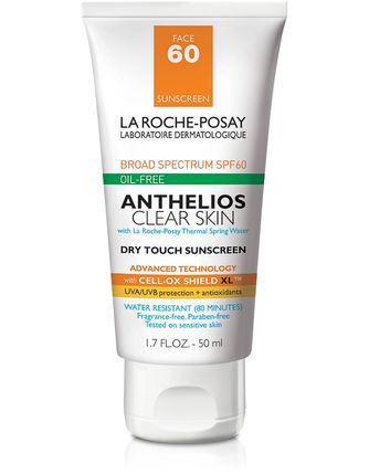 La Roche-Posay Anthelios Clear Skin Dry Touch Sunscreen SPF 60 (1.7 fl oz/ 50 ml) - Test
