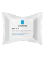 La Roche-Posay Effaclar Clarifying Oil-Free Cleansing Towelettes (25 towelettes)