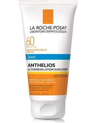La Roche-Posay Anthelios Activewear Lotion Sunscreen SPF 60 (5.0 fl oz/ 150 ml) NEW