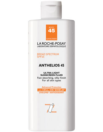 La Roche-Posay Anthelios 45 Ultra Light Sunscreen Fluid for BODY (4.2 fl oz/ 125 ml) - LIMITED SUPPLY - Test