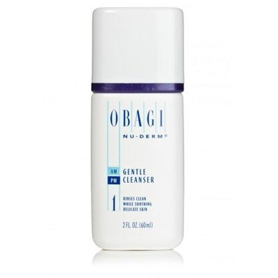 Obagi Nu-Derm Gentle Cleanser - Travel Size (2.0 fl oz/ 60 ml)