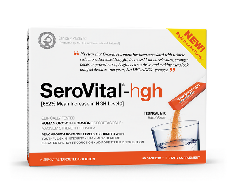 SeroVital-hgh Dietary Supplement Rapid Dissolve Powder