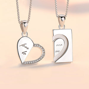 Heart Shaped Forever Necklace