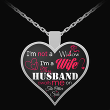 "Load image into Gallery viewer, ""I'm Not a Widow"" Pendant (Silver)"