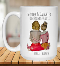 Load image into Gallery viewer, Mother & Daughter Best Friends for Life...