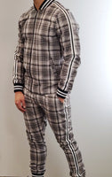 DJ PLUS 2PC JOGGER PLAID