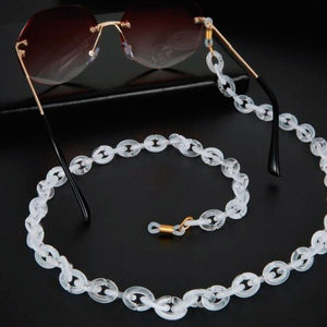 Bond Glasses & Mask Chain -  | HERS.BOUTIQUE