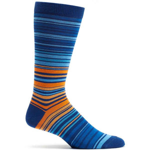 UPC Stripe Sock - Navy | HERS.BOUTIQUE
