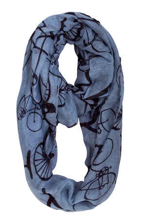 Infinity Scarf - Bicycle | HERS.BOUTIQUE