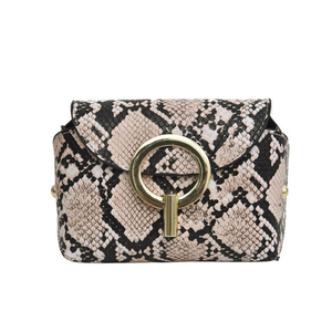 Python Belt Bag - Pink | HERS.BOUTIQUE