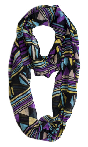 Infinity Scarf - Geo | HERS.BOUTIQUE