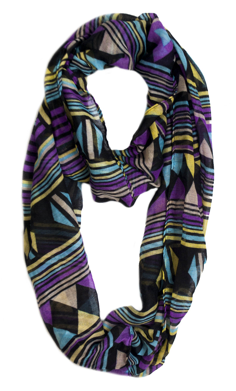 Infinity Scarf - Chevron | HERS.BOUTIQUE