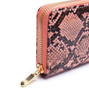 Python Zipper Wallet -  | HERS.BOUTIQUE