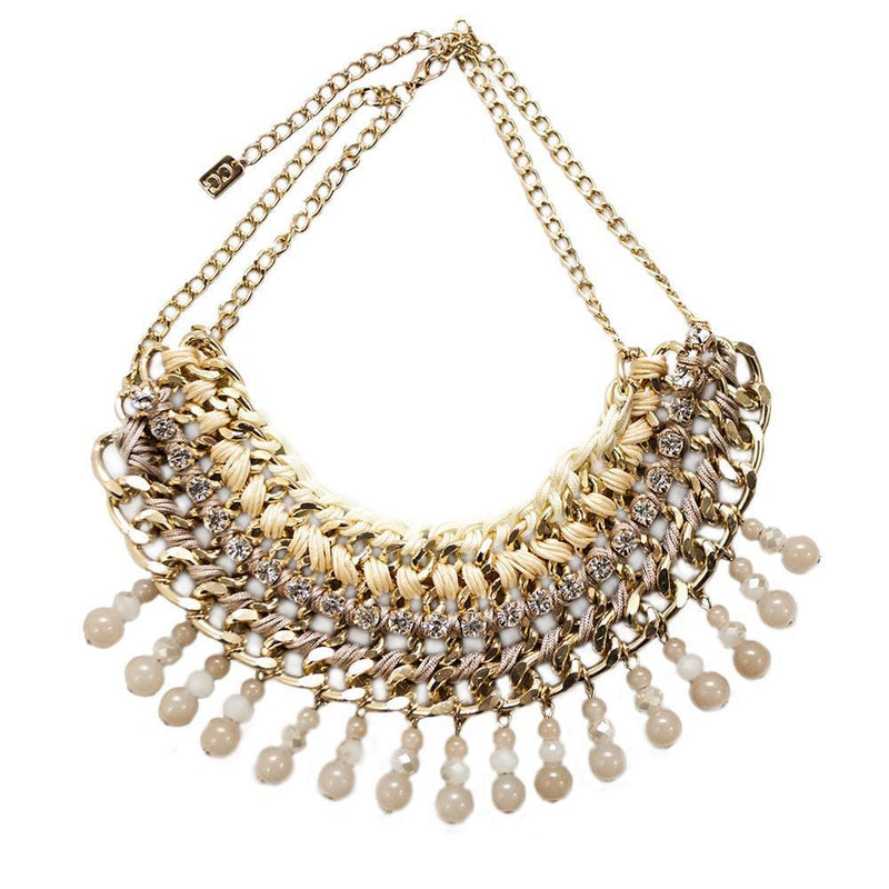 Lattice Necklace- Gold -  | HERS.BOUTIQUE