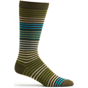 Stripy Sock - Meleze / OSFM | HERS.BOUTIQUE