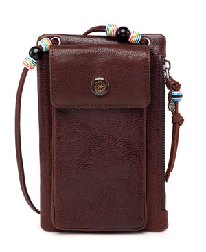 Rillet Wallet-Crossbody - BROWN | HERS.BOUTIQUE