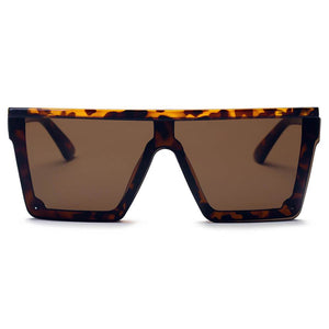 GUELPH | S2069 - Flat Top Square Oversize Fashion Sunglasses -  | HERS.BOUTIQUE