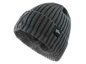 Fear0 Extreme Warm Black Cuff Winter Sport Skullies Watch Cap Beanie Hat Men Women - Gray | HERS.BOUTIQUE