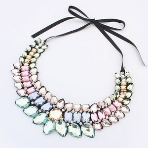 Loreen Crystal Choker - Multicolor | HERS.BOUTIQUE