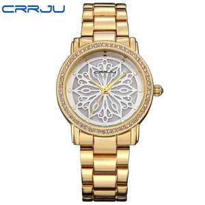 CRRJU Kimberly Watch - golden | HERS.BOUTIQUE