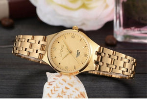 CHENXI Gold Watch - Gold | HERS.BOUTIQUE