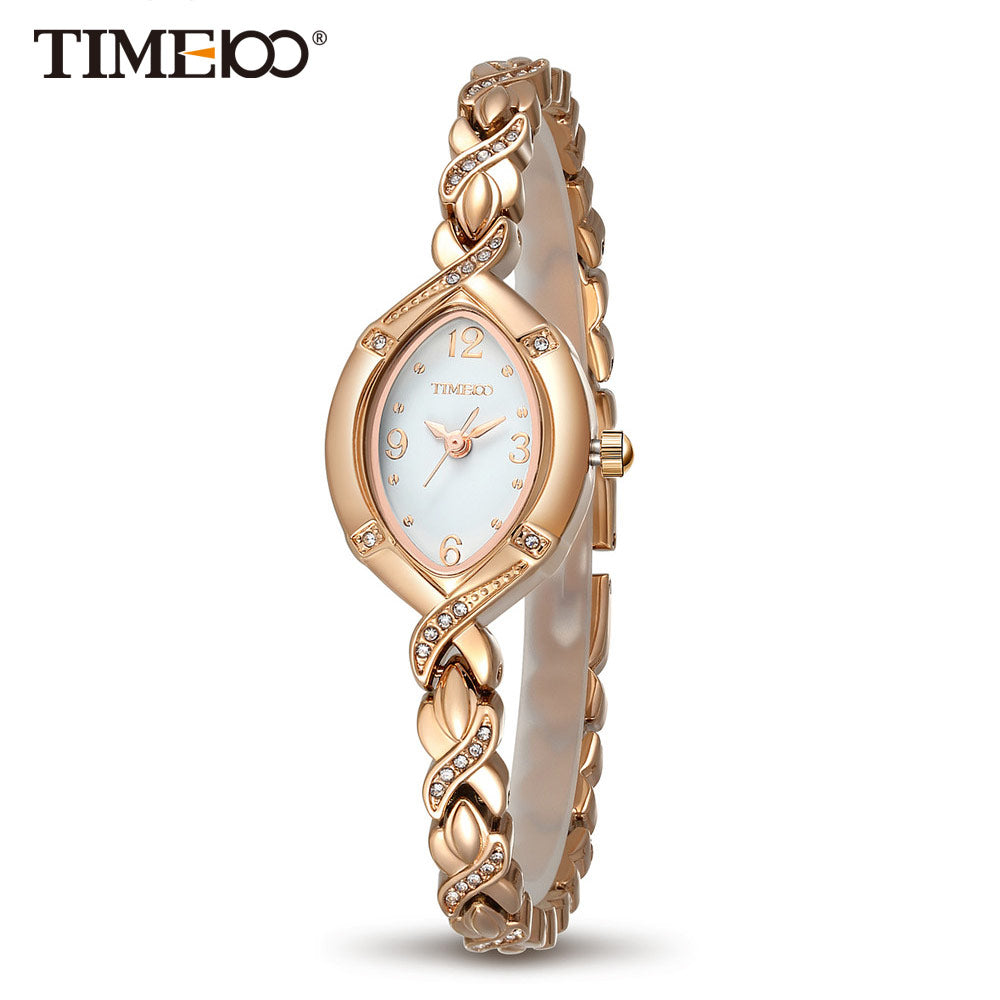 TIME100 Gold Watch -  | HERS.BOUTIQUE
