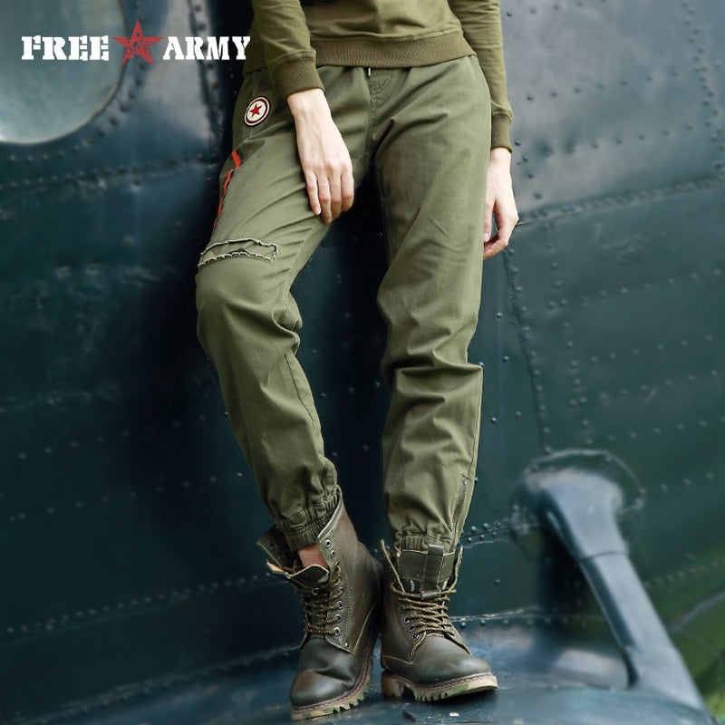 Army Camo Trouser -  | HERS.BOUTIQUE