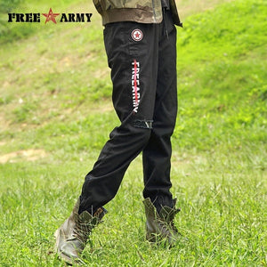 Army Camo Trouser - black / 26 | HERS.BOUTIQUE