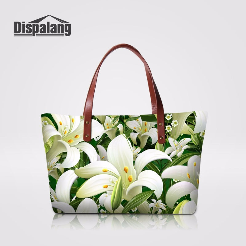 Dispalang Floral Tote bag -  | HERS.BOUTIQUE