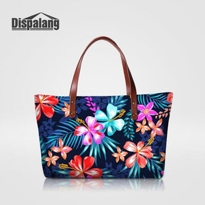 Dispalang Floral Tote bag - Clear / 49 x 11 x 29 cm | HERS.BOUTIQUE