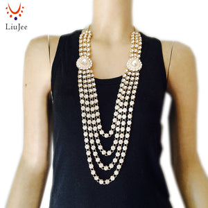kundan Style Necklace - gold | HERS.BOUTIQUE
