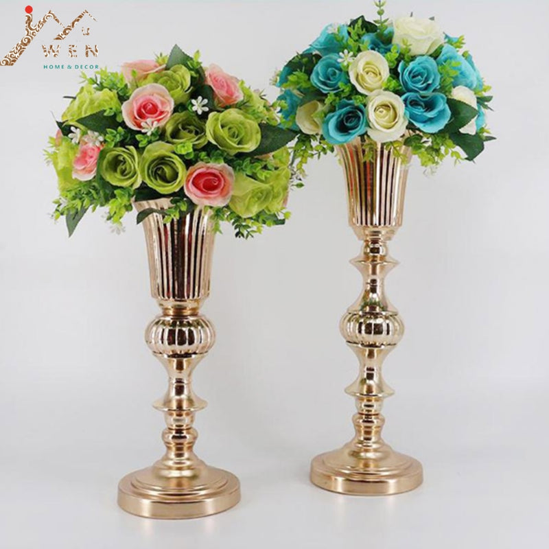Decorative Gold Vase -  | HERS.BOUTIQUE