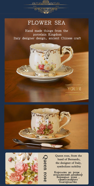 British Tea Cup Set -  | HERS.BOUTIQUE