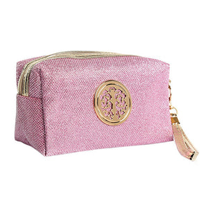 Women Cosmetic Travel Bag - Pink | HERS.BOUTIQUE