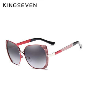 Butterfly Sun Glasses - Red | HERS.BOUTIQUE